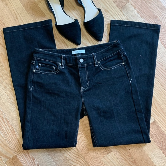 White House Black Market Denim - WHBM Black Wash Boot Leg Jeans C1